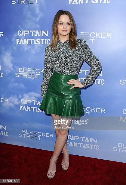 Actress Joey King attends the premiere of 'Captain Fantastic' at Harmony Gold on June 28 2016 in Los Angeles California