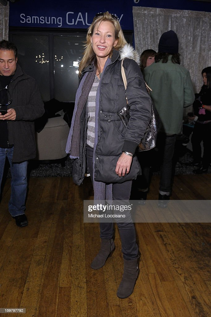 Actress <a gi-track='captionPersonalityLinkClicked' href=/galleries/search?phrase=Joey+Lauren+Adams&family=editorial&specificpeople=621841 ng-click='$event.stopPropagation()'>Joey Lauren Adams</a> attends Day 3 of Samsung Galaxy Lounge at Village At The Lift 2013 on January 20, 2013 in Park City, Utah.