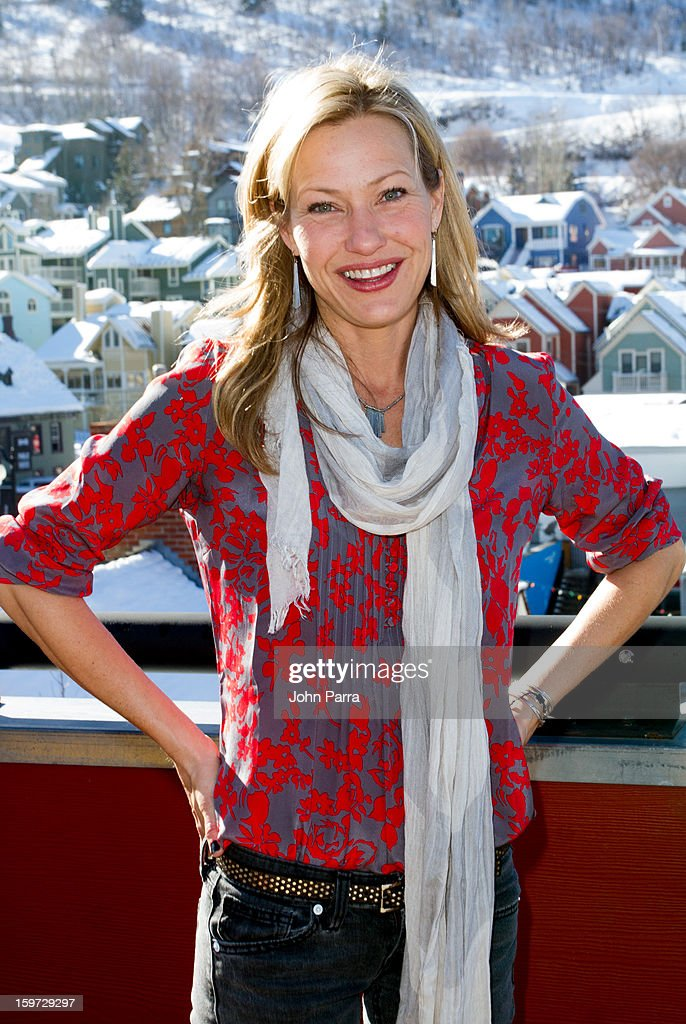 Actress Joey Lauren Adams attends the Nikki Beach pop-up lounge & restaurant at Sundance on January 19, 2013 in Park City, Utah.