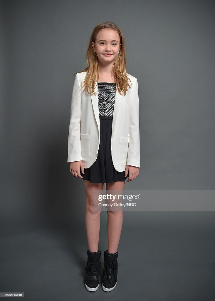 Actress Johnny Sequoyah attends the 2014 NBCUniversal TCA Winter Press Tour Portraits at Langham Hotel on January 19, 2014 in Pasadena, California.