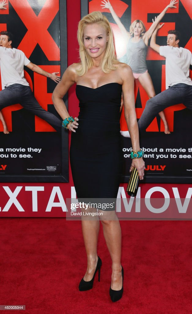 Actress <a gi-track='captionPersonalityLinkClicked' href=/galleries/search?phrase=Jolene+Blalock&family=editorial&specificpeople=1841177 ng-click='$event.stopPropagation()'>Jolene Blalock</a> attends the premiere of Columbia Pictures' 'Sex Tape' at the Regency Village Theatre on July 10, 2014 in Westwood, California.