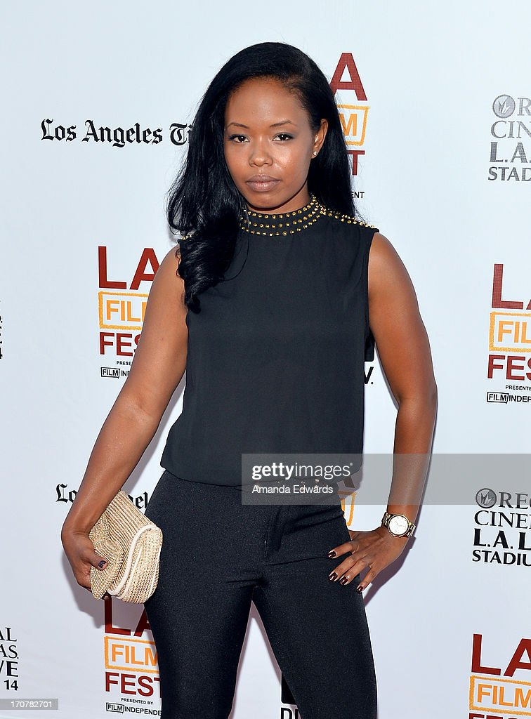 Actress Jontille Gerard attends the 'Fruitvale Station' premiere during the 2013 Los Angeles Film Festival at Regal Cinemas L.A. Live on June 17, 2013 in Los Angeles, California.