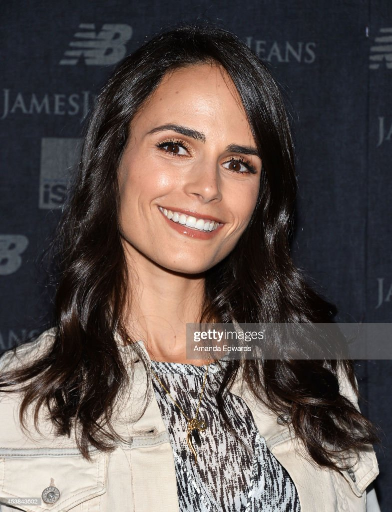 Actress <a gi-track='captionPersonalityLinkClicked' href=/galleries/search?phrase=Jordana+Brewster&family=editorial&specificpeople=207174 ng-click='$event.stopPropagation()'>Jordana Brewster</a> arrives at a dance party with New Balance and James Jeans powered by ISKO at a private residence on August 19, 2014 in Beverly Hills, California.
