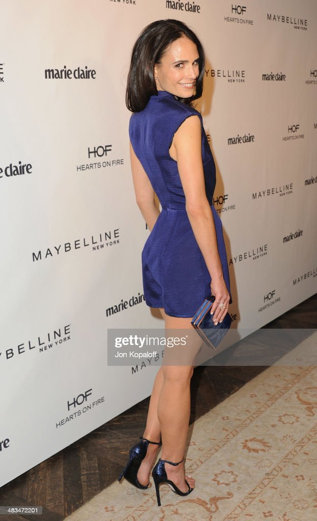 Actress <a gi-track='captionPersonalityLinkClicked' href=/galleries/search?phrase=Jordana+Brewster&family=editorial&specificpeople=207174 ng-click='$event.stopPropagation()'>Jordana Brewster</a> arrives at Marie Claire's Fresh Faces Party at Soho House on April 8, 2014 in West Hollywood, California.