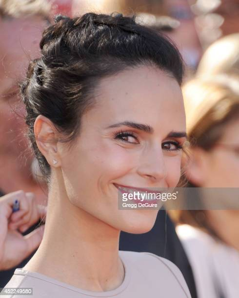 Actress Jordana Brewster arrives at the 2014 ESPY Awards at Nokia Theatre LA Live on July 16 2014 in Los Angeles California