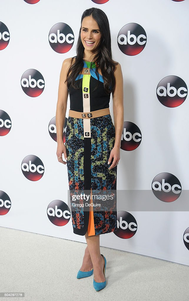 Actress Jordana Brewster arrives at the 2016 Winter TCA Tour - Disney/ABC at Langham Hotel on January 9, 2016 in Pasadena, California.