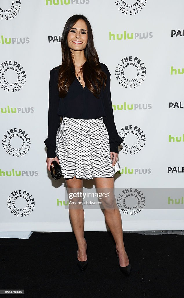 Actress Jordana Brewster arrives at the 30th Annual PaleyFest: The William S. Paley Television Festival featuring 'Dallas' at Saban Theatre on March 10, 2013 in Beverly Hills, California.