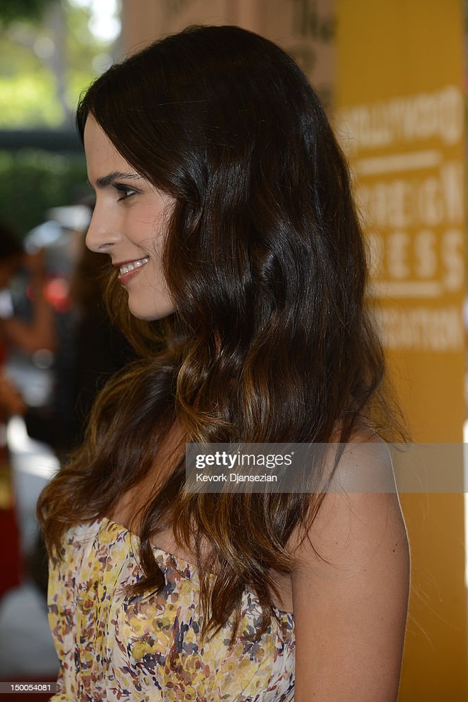 Actress Jordana Brewster arrives at the Hollywood Foreign Press Association's 2012 Installation Luncheon held at the Beverly Hills Hotel on August 9, 2012 in Beverly Hills, California.
