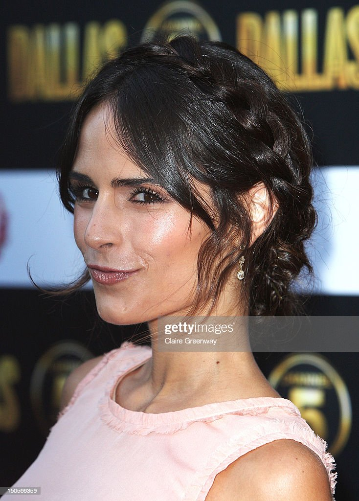 Actress Jordana Brewster arrives at the launch party for the new Channel 5 television series of 'Dallas' at Old Billingsgate on August 21, 2012 in London, England.