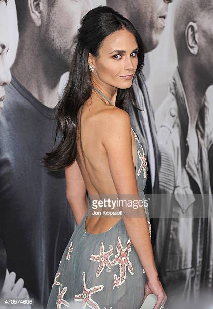 Actress Jordana Brewster arrives at the Los Angeles Premiere 'Furious 7' at TCL Chinese Theatre IMAX on April 1 2015 in Hollywood California