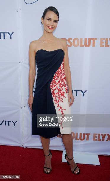 Actress Jordana Brewster arrives at the Pathway To The Cures For Breast Cancer event at Barkar Hangar on June 11 2014 in Santa Monica California