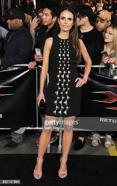 Actress Jordana Brewster arrives at the premiere of Paramount Pictures' 'xXx Return Of Xander Cage' at TCL Chinese Theatre IMAX on January 19 2017 in...