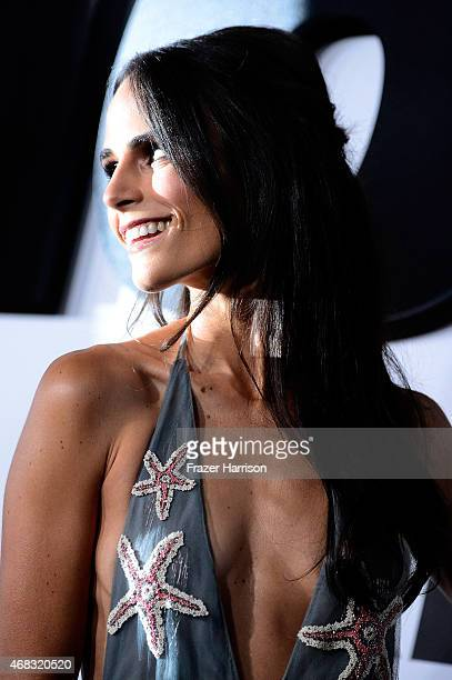 Actress Jordana Brewster arrives at Universal Pictures Premiere of 'Furious 7'' at the TLC Chinese Theatre Hollywood on April 1 2015 in Los AngelesCA