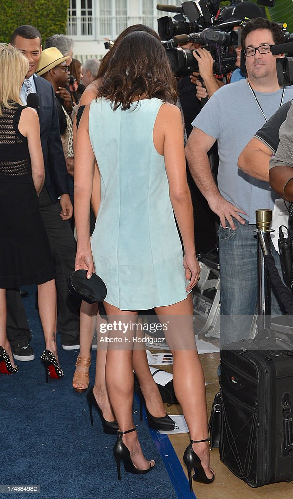 Actress Jordana Brewster arrives to TNT's 25th Anniversary Party at The Beverly Hilton Hotel on July 24, 2013 in Beverly Hills, California.