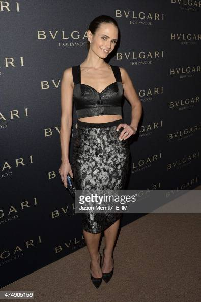 Actress Jordana Brewster attends 'Decades of Glamour' presented by BVLGARI on February 25 2014 in West Hollywood California