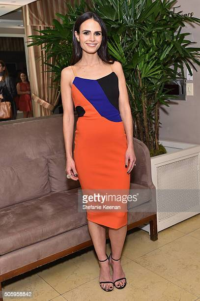 Actress Jordana Brewster attends ELLE's 6th Annual Women in Television Dinner Presented by Hearts on Fire Diamonds and Olay at Sunset Tower on...