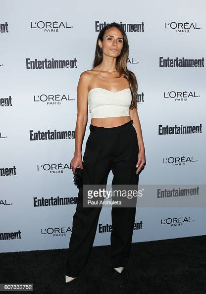 Actress Jordana Brewster attends Entertainment Weekly's 2016 PreEmmy party at Nightingale Plaza on September 16 2016 in Los Angeles California