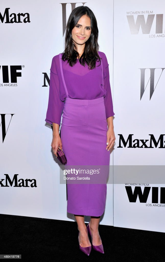 Actress Jordana Brewster attends MaxMara And W Magazine Cocktail Party To Honor The Women In Film MaxMara Face Of The Future, Rose Byrne at Chateau Marmont on June 10, 2014 in Los Angeles, California.