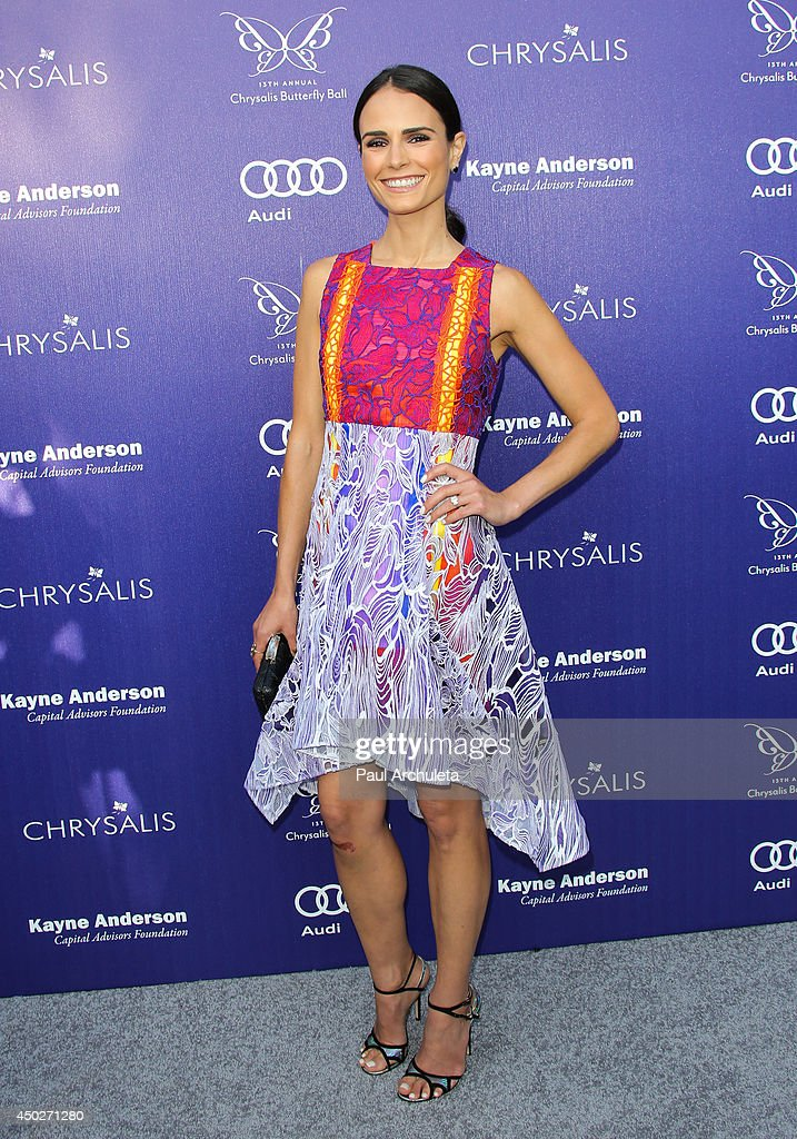 Actress <a gi-track='captionPersonalityLinkClicked' href=/galleries/search?phrase=Jordana+Brewster&family=editorial&specificpeople=207174 ng-click='$event.stopPropagation()'>Jordana Brewster</a> attends the 13th Annual Chrysalis Butterfly Ball at a private Mandeville Canyon Estate on June 7, 2014 in Los Angeles, California.