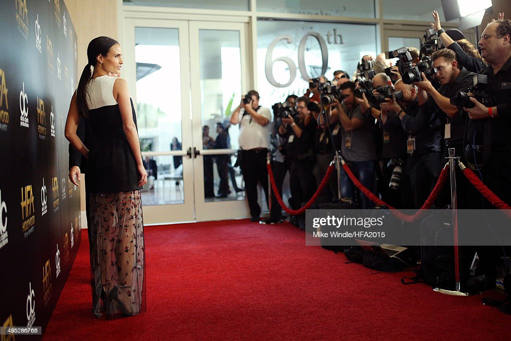 Actress Jordana Brewster attends the 19th Annual Hollywood Film Awards at The Beverly Hilton Hotel on November 1, 2015 in Beverly Hills, California.