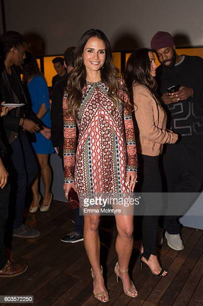 Actress Jordana Brewster attends the after party for the premiere Of Fox Network's 'Lethal Weapon' at NeueHouse Hollywood on September 12 2016 in Los...