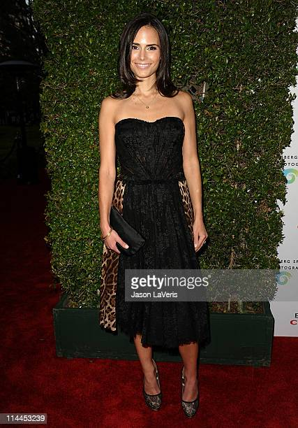 Actress Jordana Brewster attends the 'Beauty Culture' exhibition opening reception at Annenberg Space For Photography on May 19 2011 in Century City...
