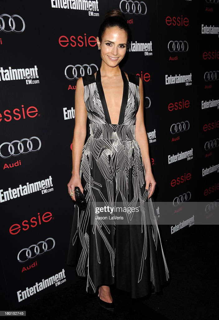 Actress Jordana Brewster attends the Entertainment Weekly Screen Actors Guild Awards pre-party at Chateau Marmont on January 26, 2013 in Los Angeles, California.