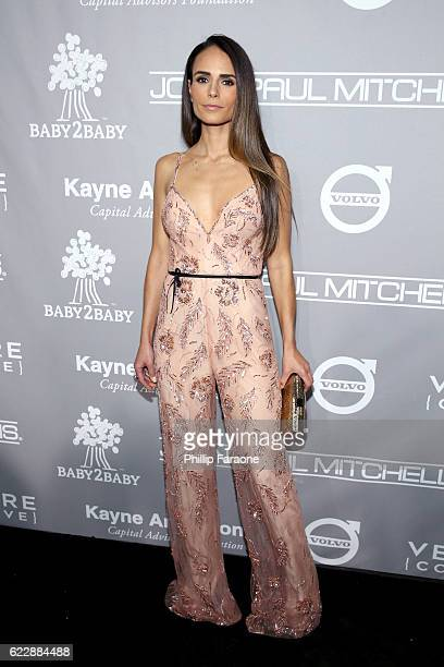 Actress Jordana Brewster attends the Fifth Annual Baby2Baby Gala Presented By John Paul Mitchell Systems at 3LABS on November 12 2016 in Culver City...