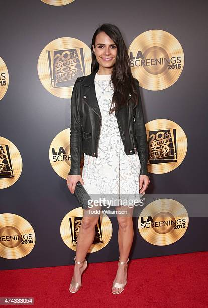 Actress Jordana Brewster attends the FOX Los Angeles Screenings Party 2015 on the Fox Studio Lot on May 21 2015 in Los Angeles California