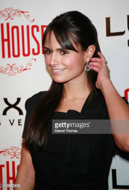 Actress Jordana Brewster attends the grand opening of the Cathouse restaurant lounge and performance space at Luxor Hotel and Resort on December 29...