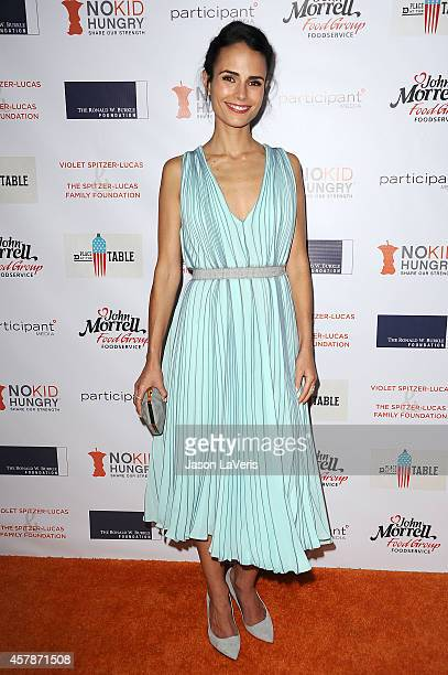 Actress Jordana Brewster attends the No Kid Hungry campaign fundraising dinner at Ron Burkle's Green Acres Estate on October 25 2014 in Beverly Hills...