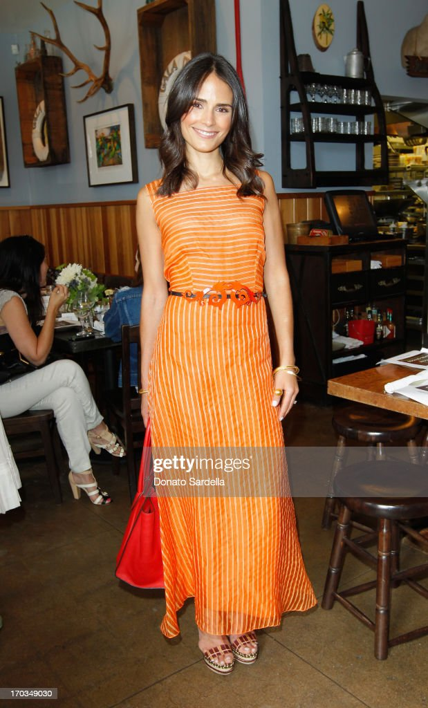 Actress Jordana Brewster attends the Paper Denim & Cloth and Baby2Baby Luncheon at Son Of A Gun on June 11, 2013 in Los Angeles, California.