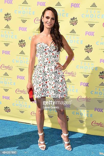 Actress Jordana Brewster attends the Teen Choice Awards 2015 at the USC Galen Center on August 16 2015 in Los Angeles California