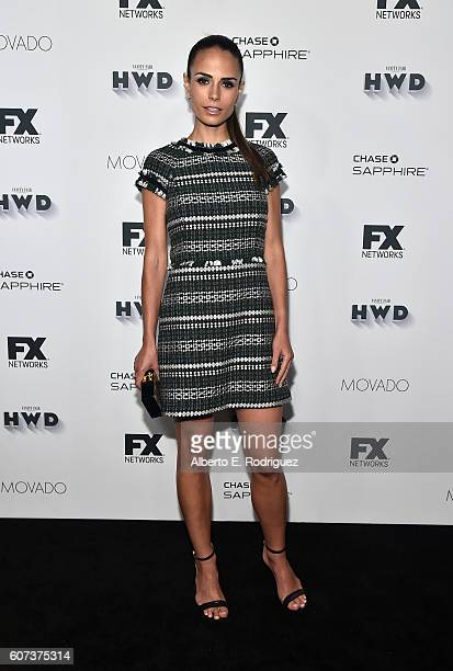 Actress Jordana Brewster attends the Vanity and FX Annual Primetime Emmy Nominations Party at Craft Restaurant on September 17 2016 in Beverly Hills...