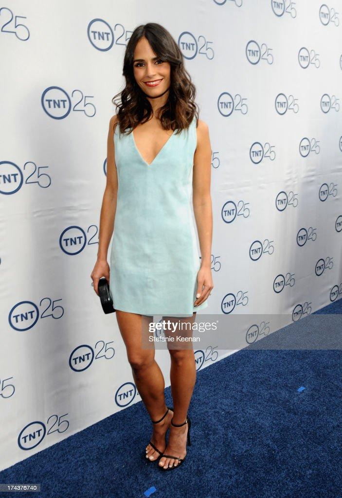 Actress Jordana Brewster attends TNT 25TH Anniversary Party during Turner Broadcasting's 2013 TCA Summer Tour at The Beverly Hilton Hotel on July 24, 2013 in Beverly Hills, California.