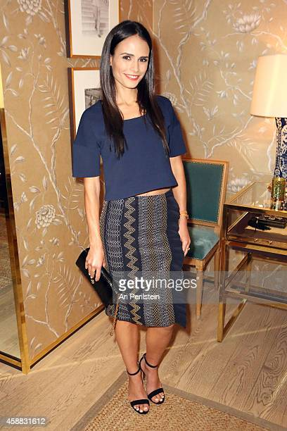 Actress Jordana Brewster attends Vogue and Tory Burch celebrate the Tory Burch Watch Collection at Tory Burch on November 11 2014 in Beverly Hills...