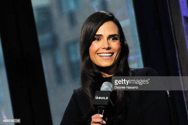 Actress Jordana Brewster discusses her film 'Furious 7' as a part of the AOL BUILD Speaker Series at AOL Studios on April 3 2015 in New York City