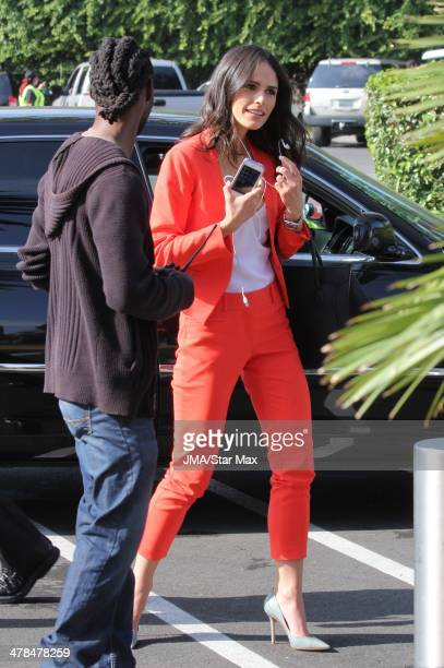 Actress Jordana Brewster is seen on March 13 2014 in Los Angeles California