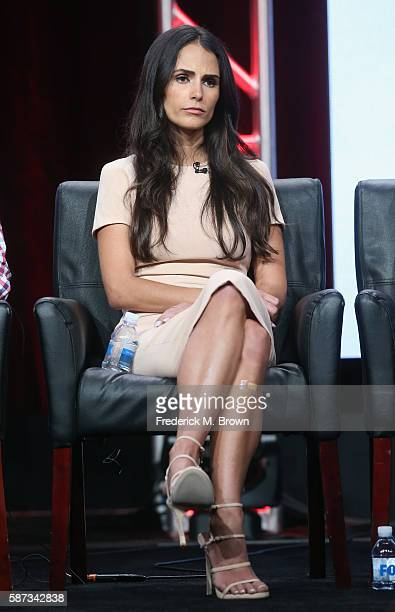Actress Jordana Brewster speaks onstage at the 'Lethal Weapon' panel discussion during the FOX portion of the 2016 Television Critics Association...