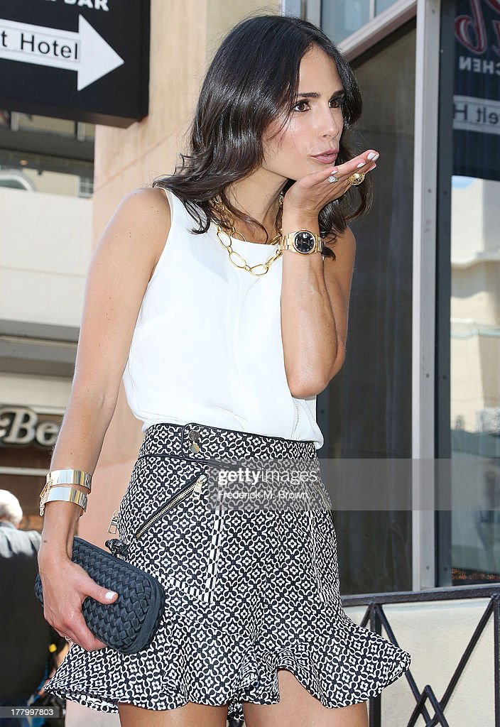 Actress Jordanna Brewster during the ceremony honoring actor Vin Diesel on The Hollywood Walk of Fame on August 26, 2013 in Hollywood, California.