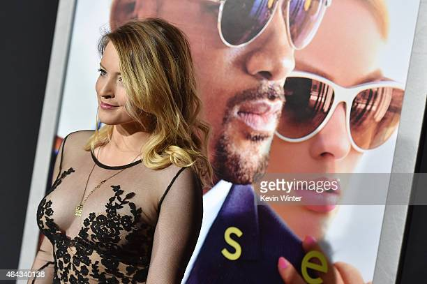 Actress Jordy Lucas attends the premiere of Warner Bros Pictures' 'Focus' at TCL Chinese Theatre on February 24 2015 in Hollywood California