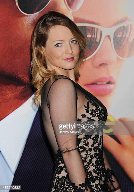Actress Jordy Lucas attends the Warner Bros Pictures' 'Focus' premiere at TCL Chinese Theatre on February 24 2015 in Hollywood California