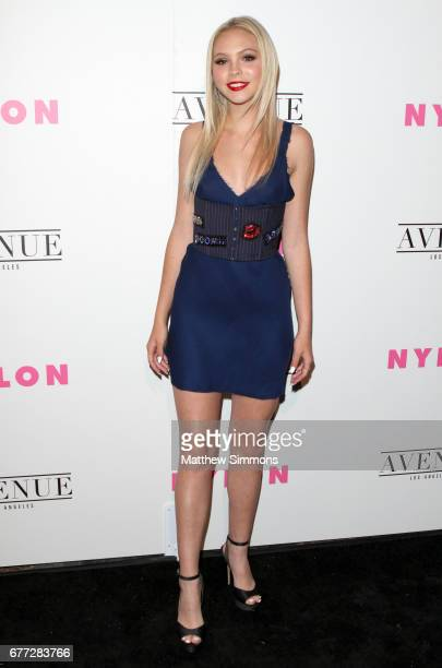Actress Jordyn Jones attends NYLON's Annual Young Hollywood May Issue Event at Avenue on May 2 2017 in Los Angeles California