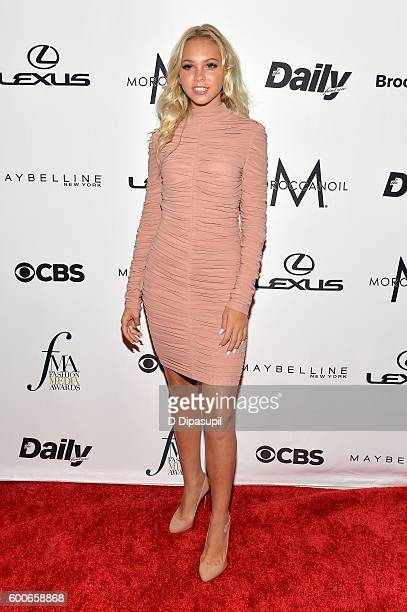 Actress Jordyn Jones attends the The Daily Front Row's 4th Annual Fashion Media Awards at Park Hyatt New York on September 8 2016 in New York City