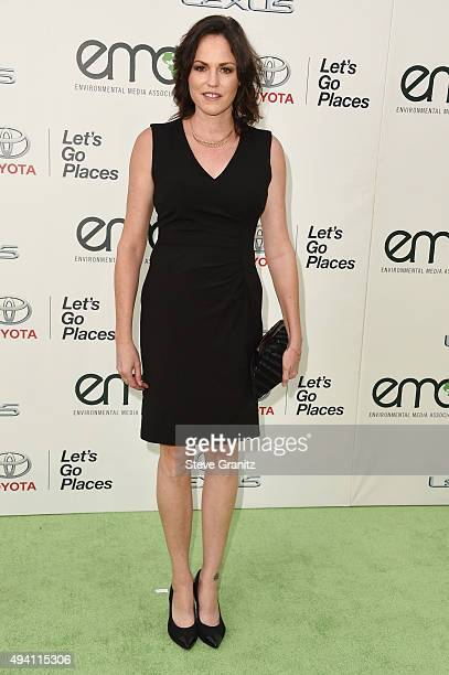 Actress Jorja Fox attends the 25th annual EMA Awards presented by Toyota and Lexus and hosted by the Environmental Media Association at Warner Bros...
