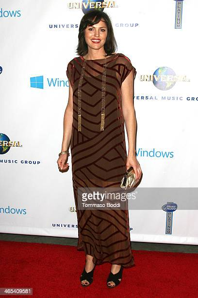 Actress Jorja Fox attends the Universal Music Group 2014 post GRAMMY party held at The Ace Hotel Theater on January 26 2014 in Los Angeles California