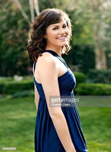 Actress Jorja Fox is photographed for Viva on January 30 2014 in Los Angeles California PUBLISHED IMAGE