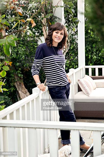 Actress Jorja Fox is photographed for Viva on January 30 2014 in Los Angeles California