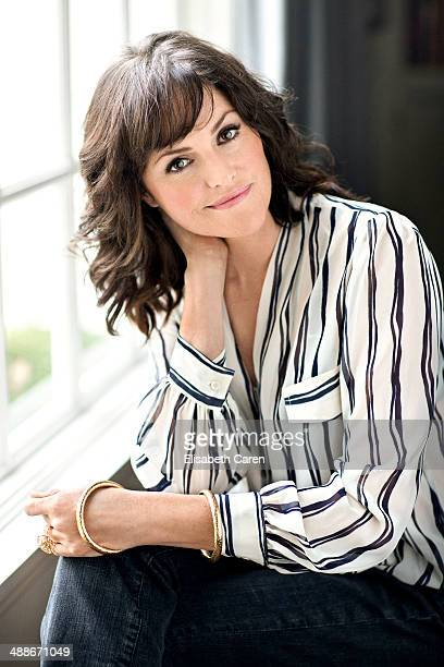 Actress Jorja Fox is photographed for Viva on January 30 2014 in Los Angeles California COVER IMAGE