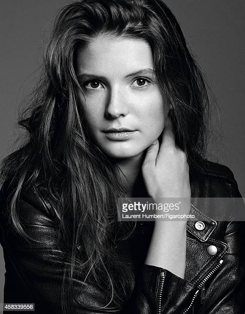 Actress Josephine Japy is photographed for Madame Figaro on September 22 2014 in Paris France Jacket Makeup by Dior PUBLISHED IMAGE CREDIT MUST READ...